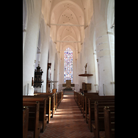 Hamburg, St. Katharinen (Chororgel), Innenraum in Richtung Chor