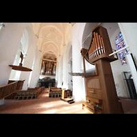 Hamburg, St. Katharinen (Chororgel), Chororgel und Hauptorgel