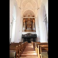 Hamburg, St. Katharinen (Chororgel), Innenraum in Richtung Orgel
