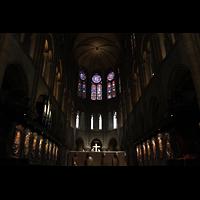 Paris, Cathédrale Notre-Dame (Hauptorgel), Chorraum