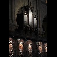 Paris, Cathédrale Notre-Dame (Hauptorgel), Chororgel