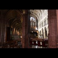 Paris, Saint-Séverin, Kleine Orgel und Hauptorgel