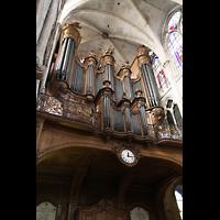 Paris, Saint-Séverin, Orgelempore seitlich