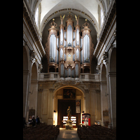 Paris, Saint-Louis en l'Ile (Hauptorgel), Orgelempore