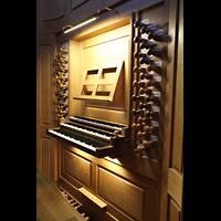 Paris, Saint-Louis en l'Ile (Hauptorgel), Spieltisch der großen Orgel