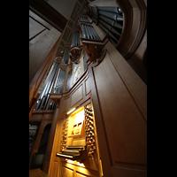 Paris, Saint-Louis en l'Ile (Hauptorgel), Orgel und Spieltisch