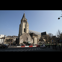 Paris, Saint-Germain des Prés, Außenansicht