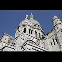 Paris, Basilique du Sacré-Coeur (Hauptorgel), Türme und Kuppeln von Sacré-Coeur