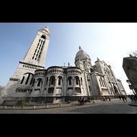 Paris, Basilique du Sacré-Coeur (Hauptorgel), Gesamtansicht von außen