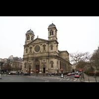 Paris, Saint-François-Xavier (Chororgel), Fassade