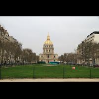 Paris, Saint-Louis des Invalides (Cathédrale aus Armes), Ansicht von der Avenua de Breteuil / Rue d'Estrées