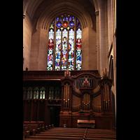 Denver (CO), St. John's Episcopal Cathedral (Main Organ), Kleine Orgel im hinteren Hauptschiff
