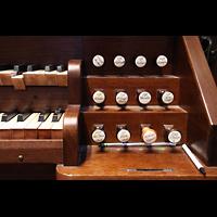 Denver (CO), St. John's Episcopal Cathedral (Main Organ), Rechte Registerstaffel der kleinen Orgel