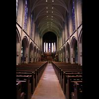Denver (CO), St. John's Episcopal Cathedral (Main Organ), Innenraum in Richtung Chor