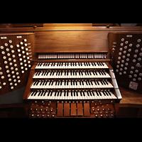 Denver (CO), St. John's Episcopal Cathedral (Main Organ), Spieltisch der Hauptorgel