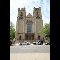 Denver (CO), St. John's Episcopal Cathedral (Main Organ), Fassade