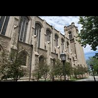 Denver (CO), St. John's Episcopal Cathedral (Main Organ), Außenansicht seitlich