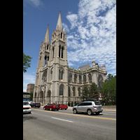 Denver (CO), Cathedral Basilica of the ImmaculateConception, Gesamtansicht