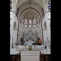 Denver (CO), Cathedral Basilica of the ImmaculateConception, Chorraum mit Altar
