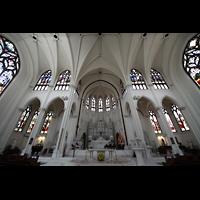 Denver (CO), Cathedral Basilica of the ImmaculateConception, Querhaus mit Blick zum Chorraum