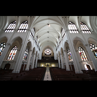 Denver (CO), Cathedral Basilica of the ImmaculateConception, Querhaus mit Blick zur Orgel