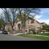 Denver (CO), Montview Boulevard Presbyterian Church, Gesamtansicht von außen