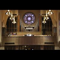 Denver (CO), Montview Boulevard Presbyterian Church, Orgelempore