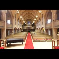 Denver (CO), Montview Boulevard Presbyterian Church, Innenraum in Richtung Orgel