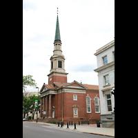 Denver (CO), First Baptist Church, Außenansicht mit Turm
