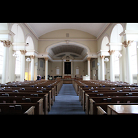 Denver (CO), First Baptist Church, Innenraum in Richtung Altar