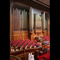 Denver (CO), Trinity United Methodist Church, Orgel seitlich