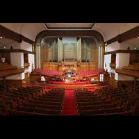 Denver (CO), Trinity United Methodist Church, Orgel und Altarraum