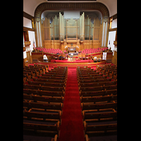 Denver (CO), Trinity United Methodist Church, Innenraum in Richtung Orgel