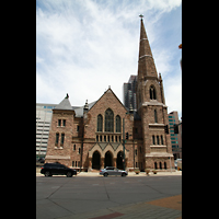 Denver (CO), Trinity United Methodist Church, Fassade mit Turm