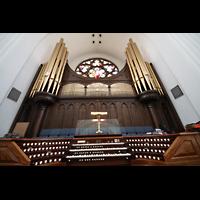 Denver (CO), Cathedral Basilica of the ImmaculateConception, Orgel mit Spieltisch