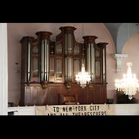 New York (NY), St. Paul's Chapel (Trinity Parish), Orgel