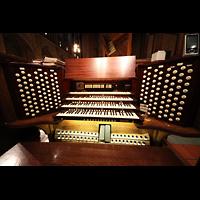 New York (NY), St. Thomas (Kleine Orgel), Spieltisch
