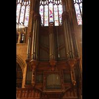New York (NY), St. Thomas (Kleine Orgel), Gehäuse der Hauptorgel (Südseite)