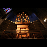 New York (NY), St. Thomas (Kleine Orgel), Orgelempore der kleinen Orgel