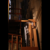 New York (NY), St. Thomas (Kleine Orgel), Pedal-Lade