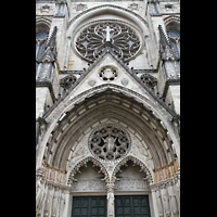 New York (NY), Episcopal Cathedral of St. John the Divine, Hauptportal