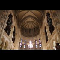 New York (NY), Episcopal Cathedral of St. John the Divine, Doppelprospekt der Orgel