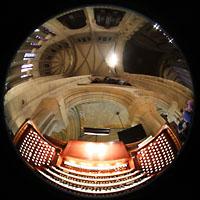 New York (NY), Episcopal Cathedral of St. John the Divine, Spieltisch und Orgelprospekt