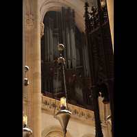New York (NY), Episcopal Cathedral of St. John the Divine, Blick vom Chorumgang zur Orgel