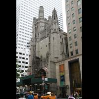 New York (NY), St. Thomas (Kleine Orgel), Außenansicht