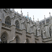 New York (NY), St. Patrick's Cathedral, Strebewerk
