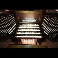 New York (NY), St. Patrick's Cathedral, Spieltisch von oben