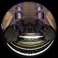 New York (NY), St. Patrick's Cathedral, Spieltisch und Orgel