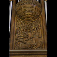 New York (NY), St. Patrick's Cathedral, Prospektdetail
