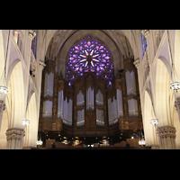 New York (NY), St. Patrick's Cathedral, Hauptorgel